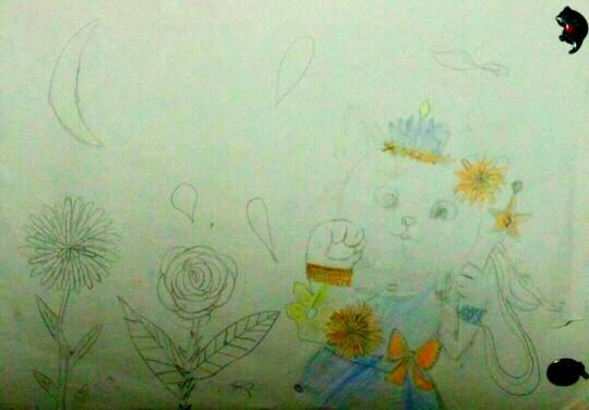 (中班,刚满5岁)   6《蝴蝶》( 后画了蝴蝶,做了蝴蝶剪纸.   7