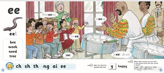 3阶内页 ee发音的学习