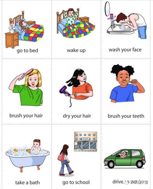 孩子不吃早饭_Daily Routines 把英语学习嵌入到我们的日常生活中去-小花生