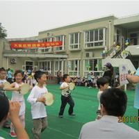 幼儿园的亲子运动会